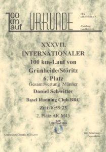 Urkunde_100km-Grünheide 2017